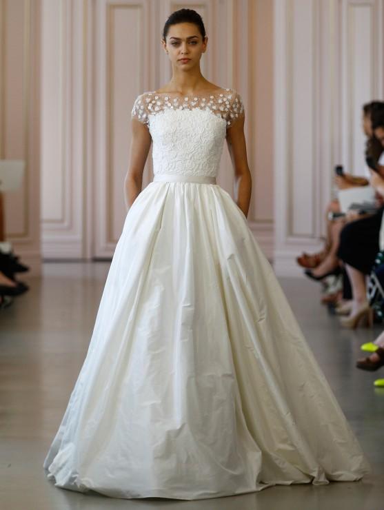 Свадебное платье Oscar De La Renta - весна 2016 1