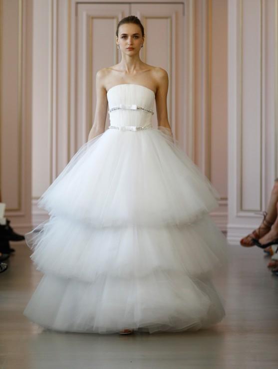 Свадебное платье Oscar De La Renta - весна 2016 3