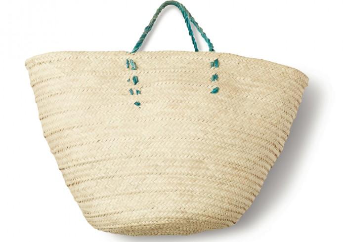 Пляжная корзинка