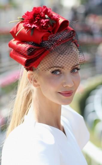 модель Татьяна Корсакова на Royal Ascot