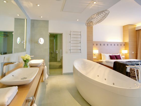 Ванная комната отеля Radisson Blu Resort Bukovel
