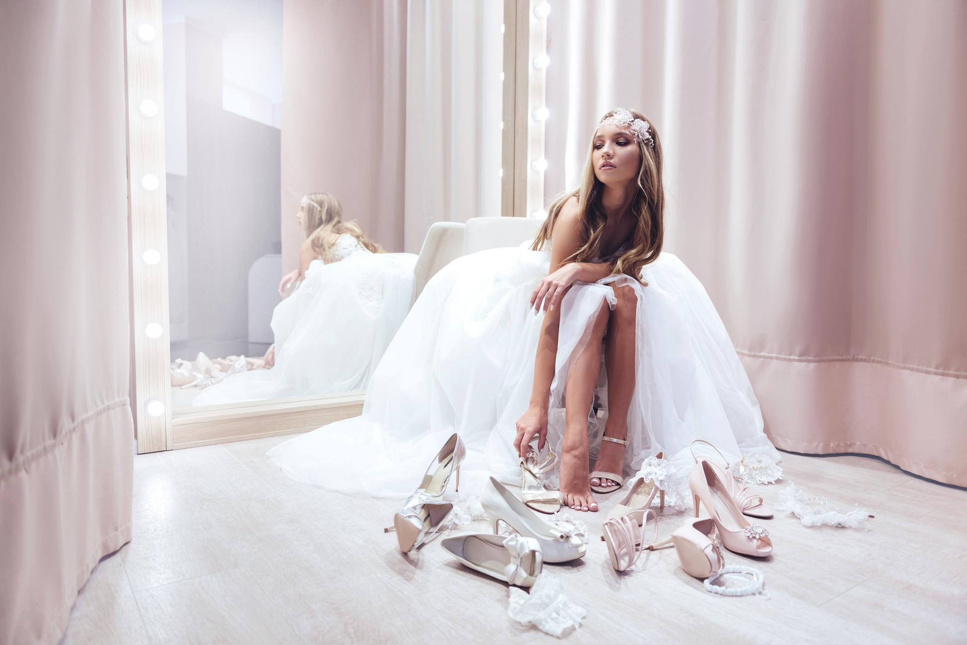 Как правильно подобрать идеальные свадебные туфли