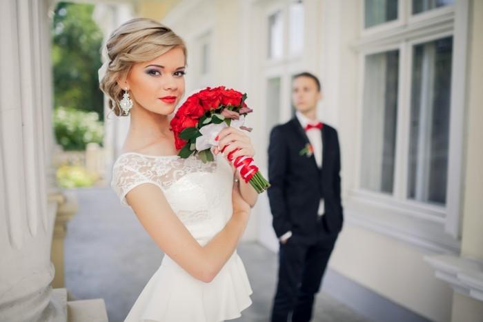 Обычаи Свадебный букет