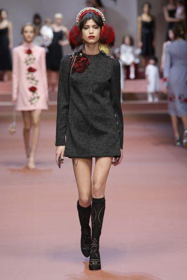 Платье-свитер Dolce&Gabbana
