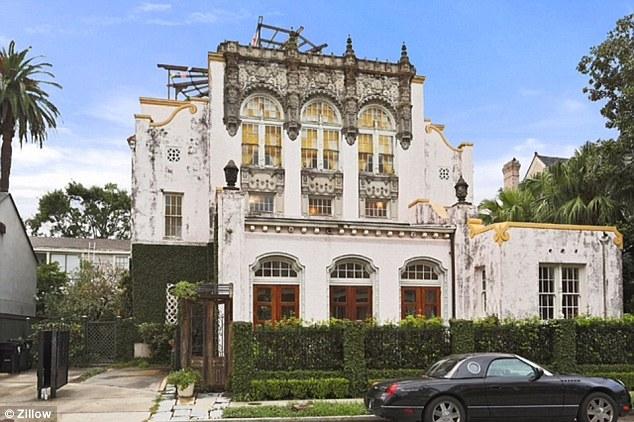 Дом Бейонсе в испанском стиле, Новый Орлеан, США