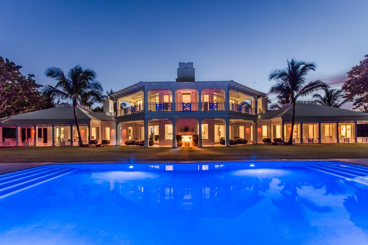 Дом Селин Дион во Флориде, США 2