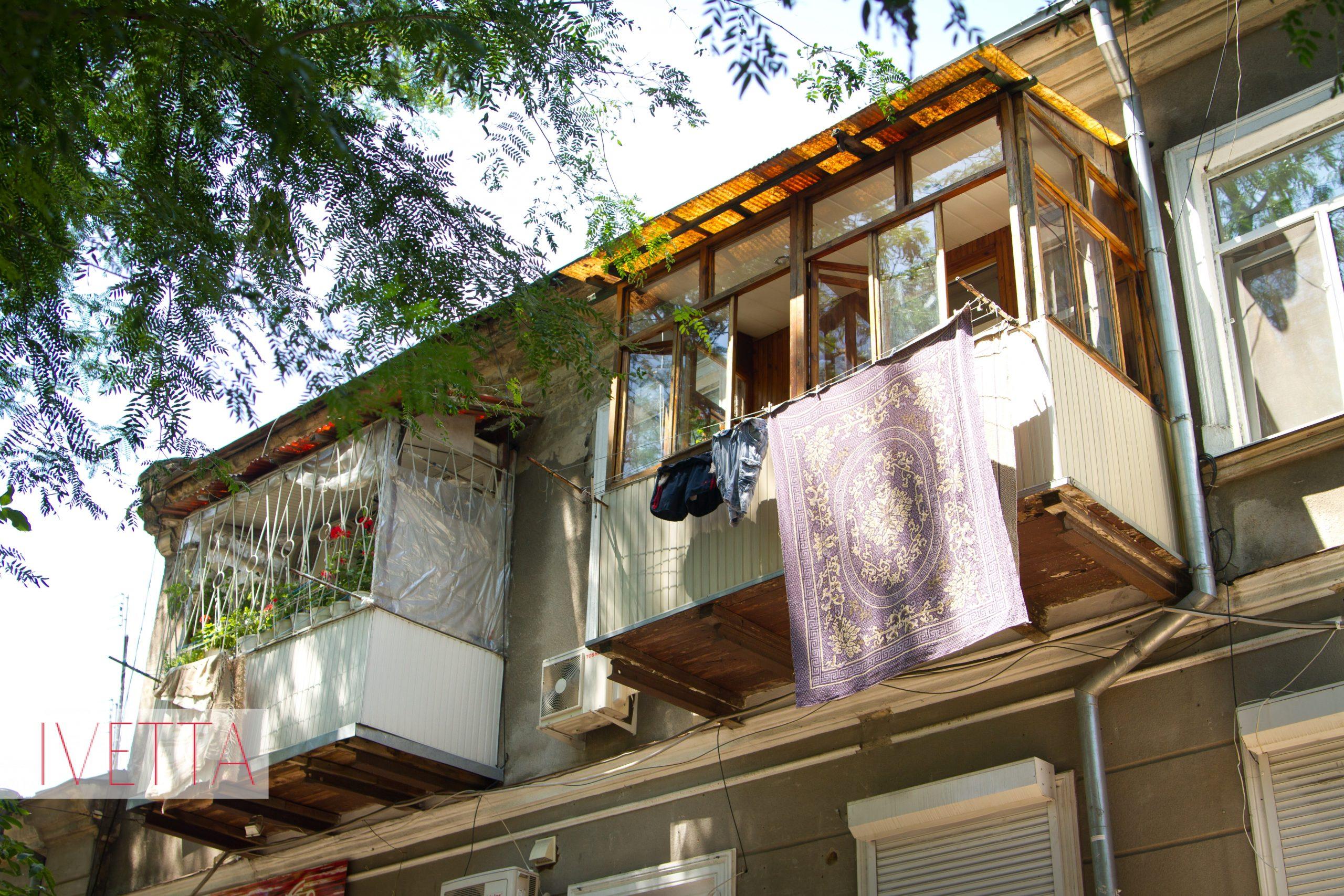 Балкончик в дворике Одессы