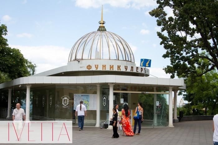 фуникулер в Одессе