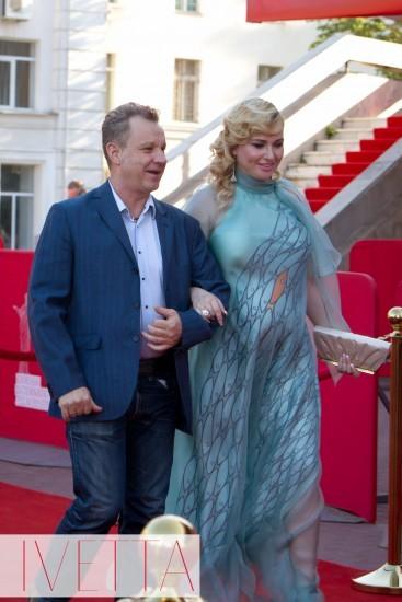 Георгий Делиев с женой