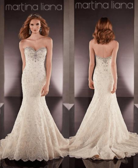 свадебное платье Martina Liana