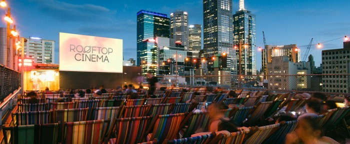 Кинотеатр Rooftop Cinema