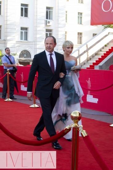Виктория Тигипко с мужем Сергеем Тигипко
