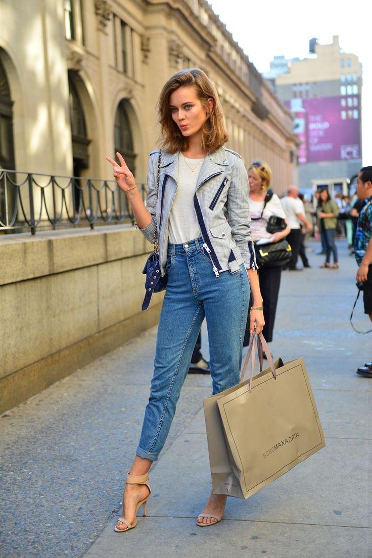 Способ сделать ноги визуально длиннее - носить одежду с высокой талией 4