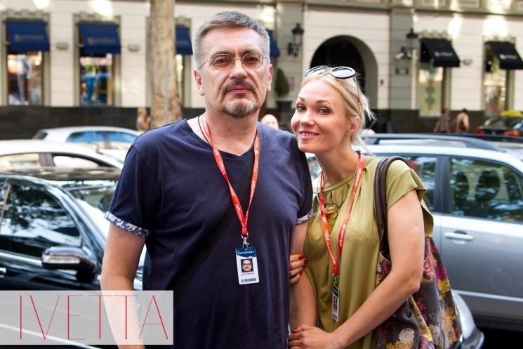 Анастасия Матешко с мужем