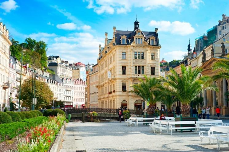знаменитые курорты Чехии