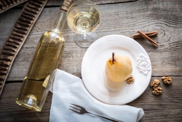 Десерт груша