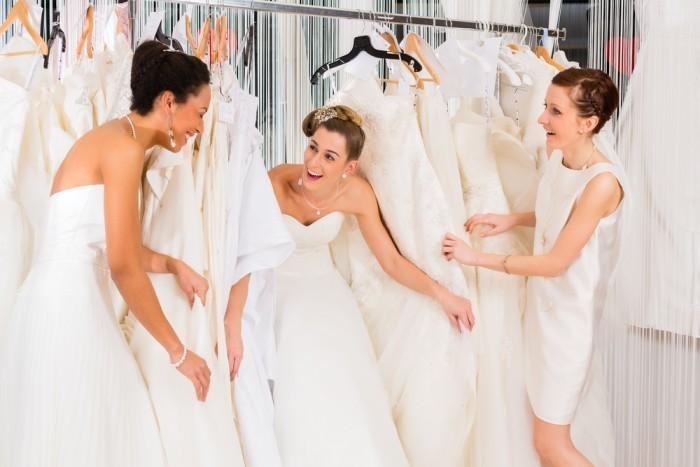 свадебное платье несет энергетику невесты