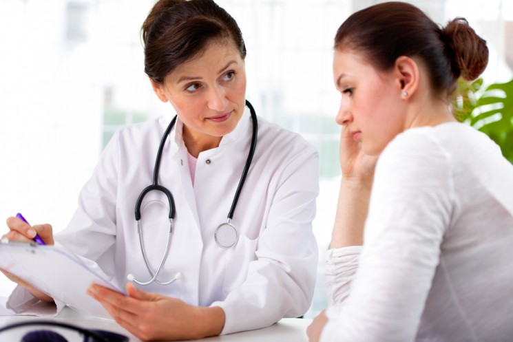 Девушка у гинеколога