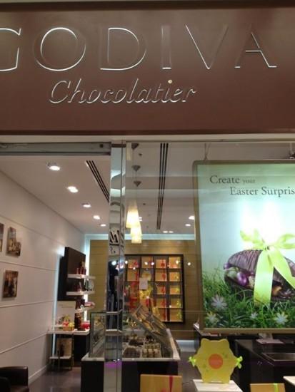 Godiva Chocolatier, Брюссель