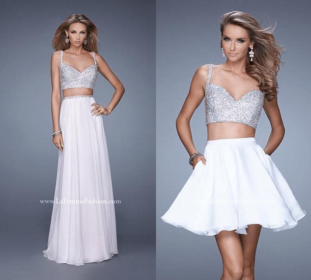 Блеск La Femme Fashion - свадебное платье