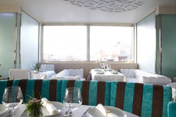 небесный киевский ресторан Nebo