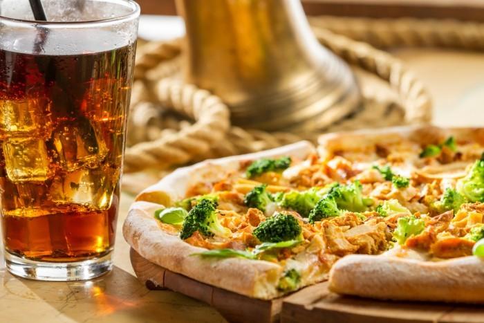 пицца с брокколи