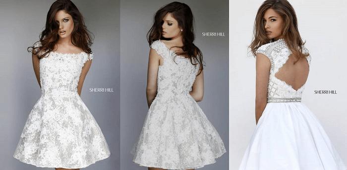 свадебное платье Sherri Hill