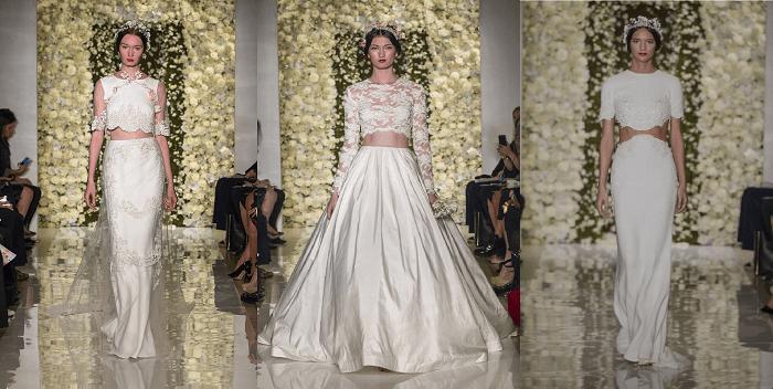 свадебное платье Reem Acra