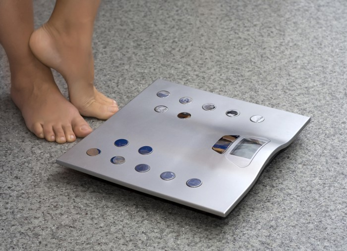 Диагностические весы с функцией анализа мышечной массы