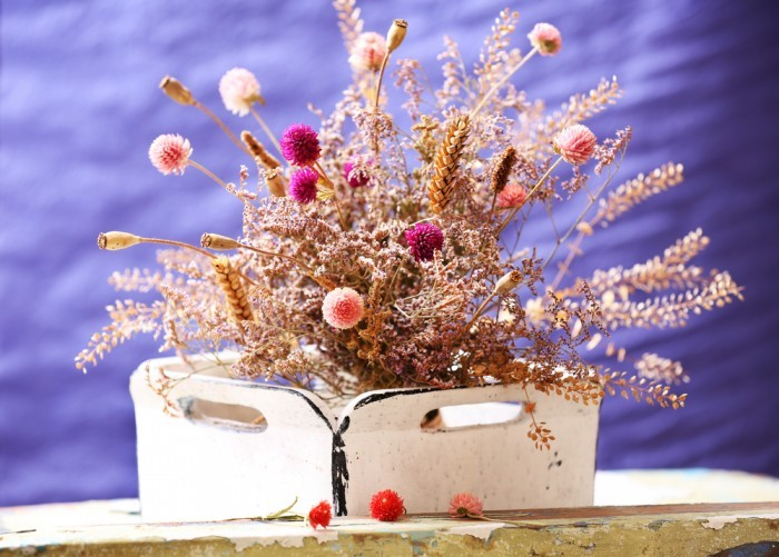 Сухие цветы
