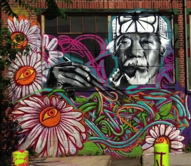 Граффити Бостон
