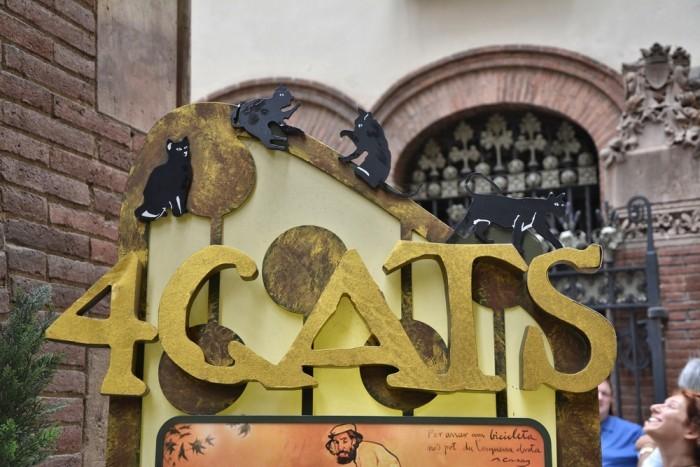 Кафе El Quatre Gats в Барселоне