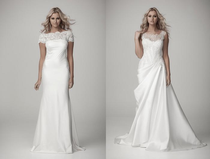 Величественный гламур Luci DiBella - свадебное платье