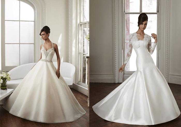 Сказка Madeline Gardner - свадебное платье