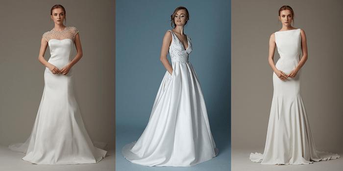 Елегантность Lela Rose - свадебное платье