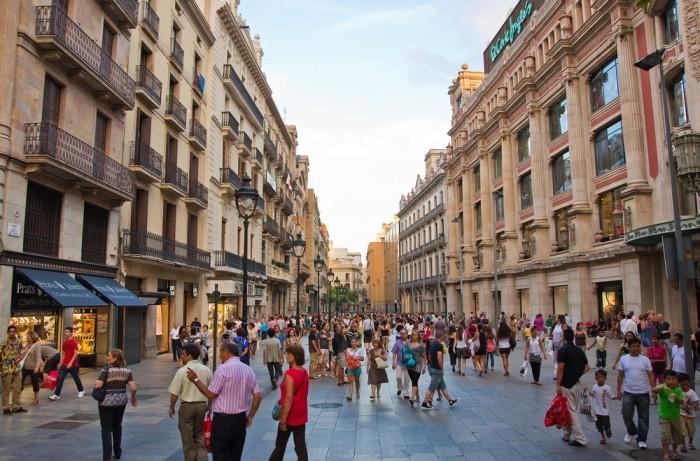 Шопинг в Барселоне