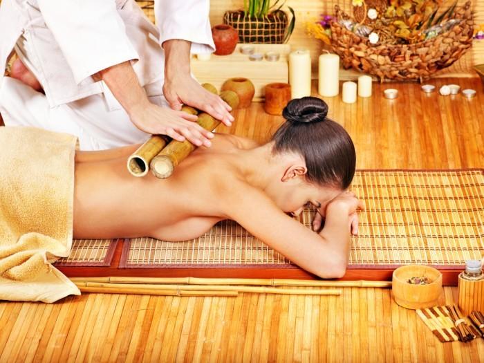 Тибетский массаж бамбуковыми палочками