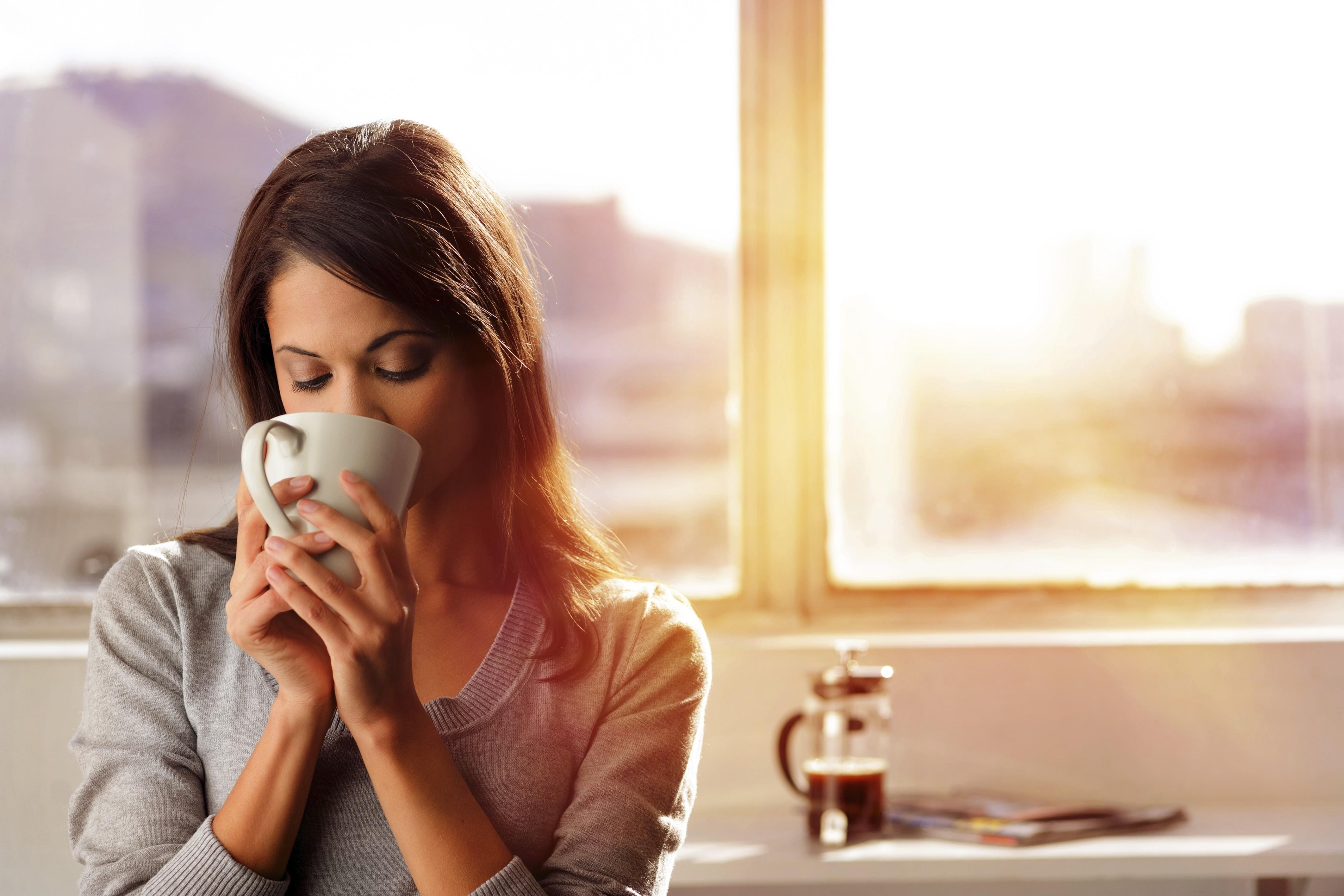Запах кофе по утрам