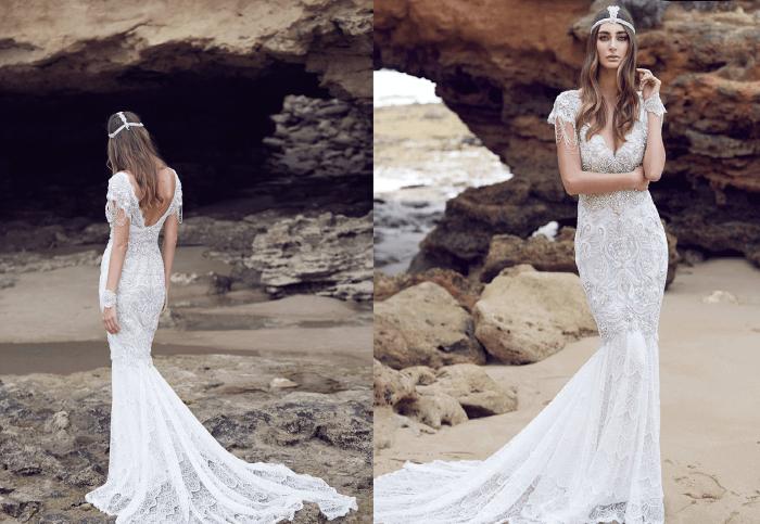 Прованс Anna Campbell - свадебное платье