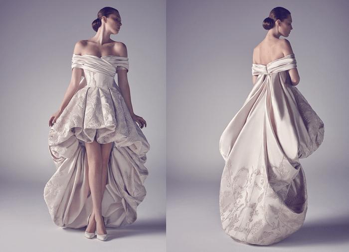 платье-муллет - невесомость Аshistudio