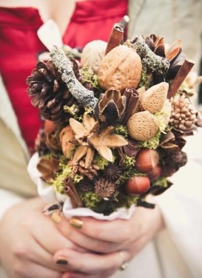 Лесные мотивы - букет невесты