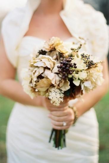 букет невесты в осеннем стиле