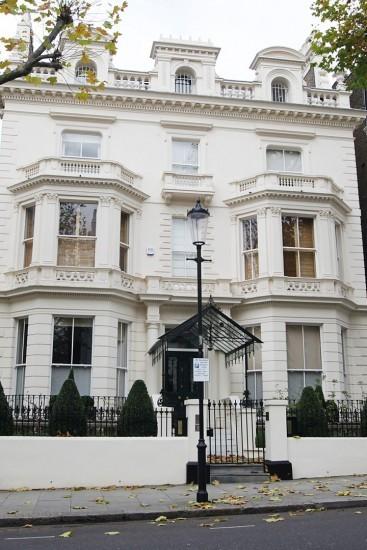 Дом семьи Бекхэм в Лондоне