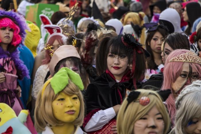 Хеллоуин по-японски