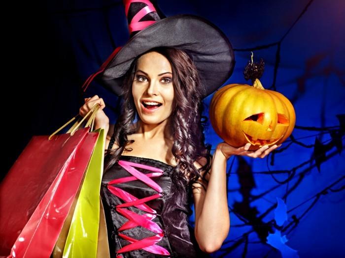 Хэллоуин девушка