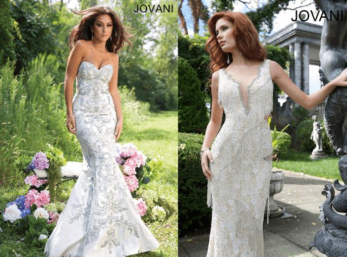 свадебное платье - Неповторимость Jovani