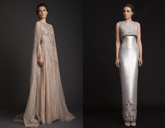 Царственность Krikor Jabotian - свадебное платье