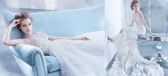 свадебное платье - Чувственность Lazaro