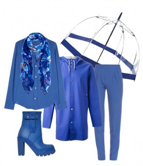 Образ с зонтом