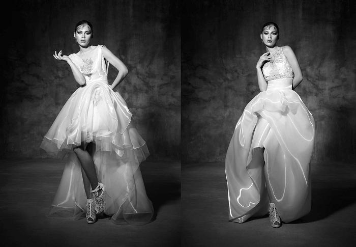 платье-муллет - неповторимость YolanCris